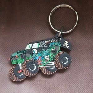 Grave digger key chain